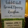 Exhibit Hall Announcement