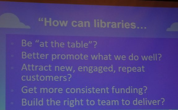 Roles for libraries